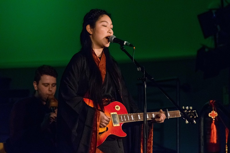 The Sages' performance on the opening act for the University of Oxford Chinese New Year Festival at the Oxford Town Hall, 11th February 2017.  Photograph: Yijia Tu.