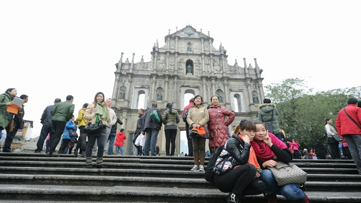 Macao's tourist price index decreases in 2019