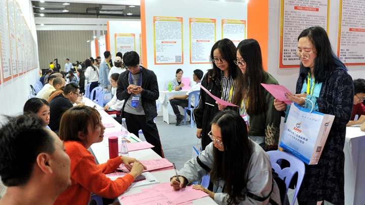 China registers stable employment in 2019