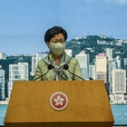 Carrie Lam says Hong Kong not afraid of U.S. sanctions