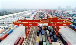 China-Europe rail freight services hit record high