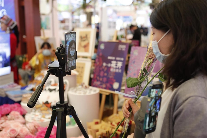 Sales by top livestreaming host hit 5.87b yuan in 3 months