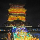 Performance staged at Tengwang Pavilion in east China