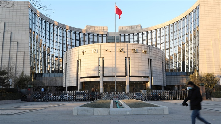 China's central bank conducts 10 bln yuan of reverse repos