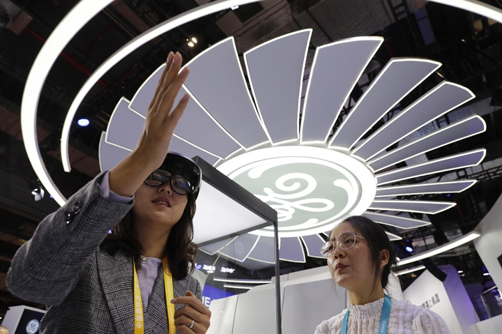 GE seeks business opportunities at China import expo